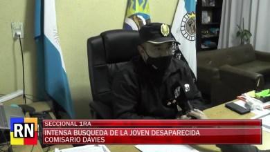 Photo of Redacción Noticias |  COMISARIO DAVIES NOS COMENTA ACERCA DEL RASTRILLAJE INTENSO PARA DAR CON LA MENOR