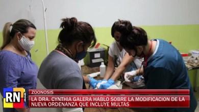 Photo of Redacción Noticias    La Dra Cynthia Galera hablo sobre la modificación de la nueva ordenanza que incluye multas