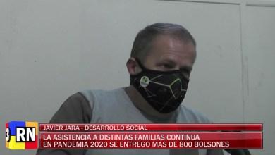 Photo of Redacción Noticias    Se sigue asistiendo a familias desde Desarrollo Social con bolsones, en 2020 se entregaron 800