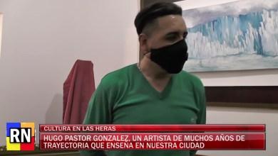 Photo of Redacción Noticias    Hugo Pastor Gonzalez – Un artista de trayectoria Internacional que enseña en nuestra ciudad
