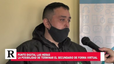 Photo of Redacción Noticias    Punto Digital Las Heras – Una posibilidad de terminar el secundario de manera virtual en la ciudad