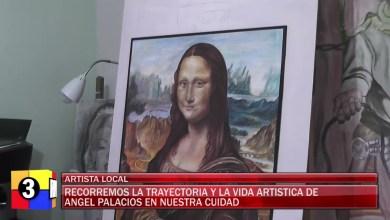 Photo of Redacción Noticias    Angel Palacios artista local de la cuidad