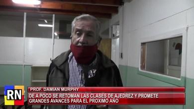 Photo of Redacción Noticias    Comenzó con total éxito el Ajedrez en el complejo 11 de Julio a cargo del instructor Damián Murphy