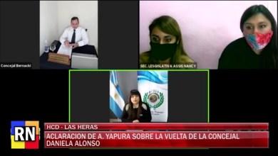 Photo of Redacción Noticias    Andrea Yapura aclaracion de la presidenta del HCD por la vuelta de las Concejal Alonso