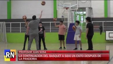 Photo of Redacción Noticias |  Básquet – Juan Sosa mas de un año parado por pandemia.