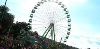 Fiestas de Burgos Feria Atracciones Barracas San Pedro y San Pablo