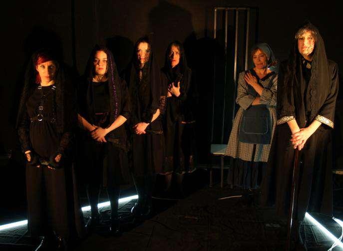 L quido teatro presenta la casa de bernarda alba en el - Preguntas y respuestas de la casa de bernarda alba ...