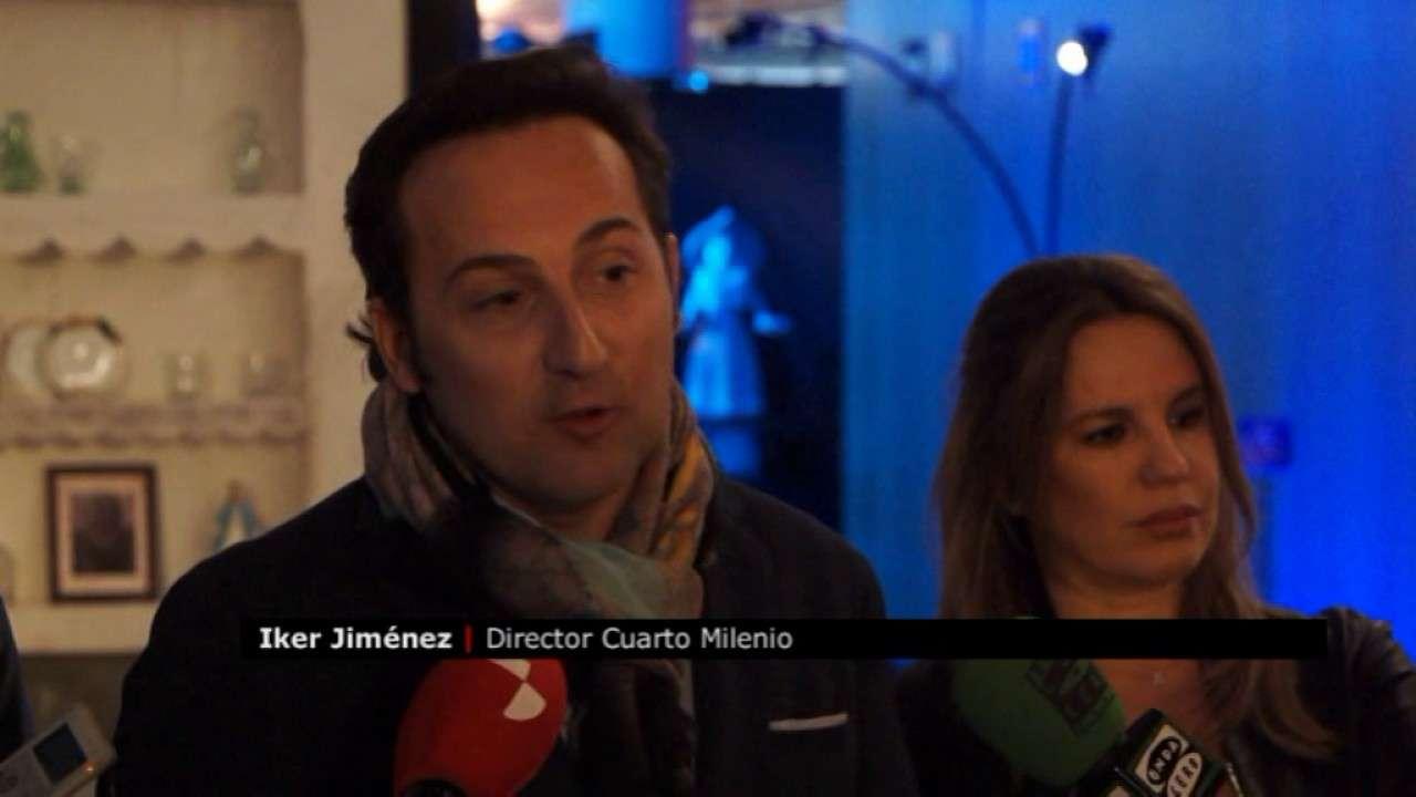 Presentador Cuarto Milenio | Canal 54 Aterriza En Burgos La Nave Del Misterio De Iker Jimenez