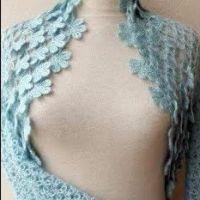 Bolero torera fácil y elegante crochet