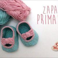 DIY Zapatos merceditas para bebé