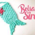 DIY Bolso cola de sirena a crochet