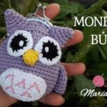DIY Monedero de búho tejido a crochet
