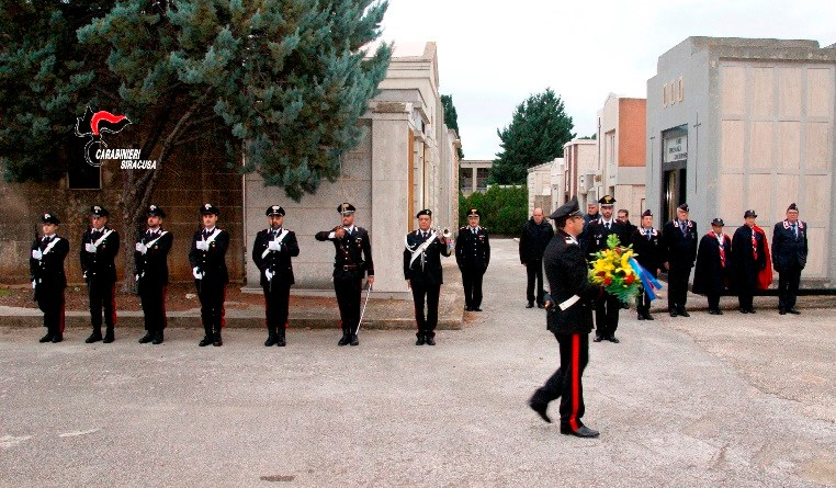 I carabinieri ricordano il sacrificio del collega Carmelo Ganci