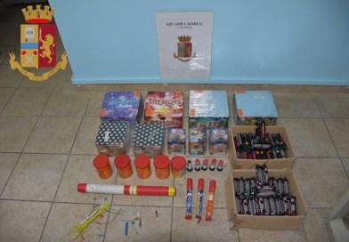 Siracusa, arrestato per droga e giochi d'artificio pericolosi