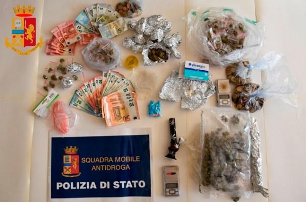 ARRESTATI TRE GIOVANI, SEQUESTRATA DROGA E RIMOSSO CANCELLO