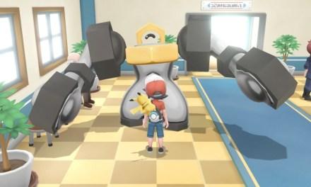 Melmetal la evolución de Meltan en Pokémon Let's GO!