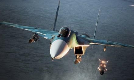 Batalla con tu Jet personalizado en Ace Combat 7: Skies Unknown