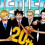 La carta de Eiichiro Oda con los 20 años de One Piece