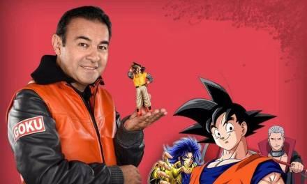 Mario Castañeda, voz de Gokú estará presente en la Comic Con Chile 2019
