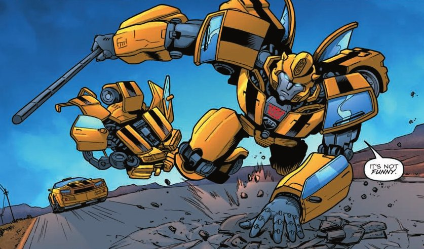 [Transformers] Spotlight Bumblebee & Death of Optimus prime