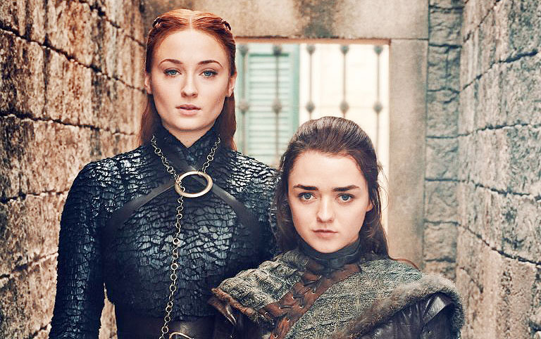 #ForTheThrone Arya y Sansa estarán mucho más unidas en esta temporada de acuerdo a Maisie Williams