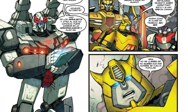 [Transformers] Robots in disguise 01