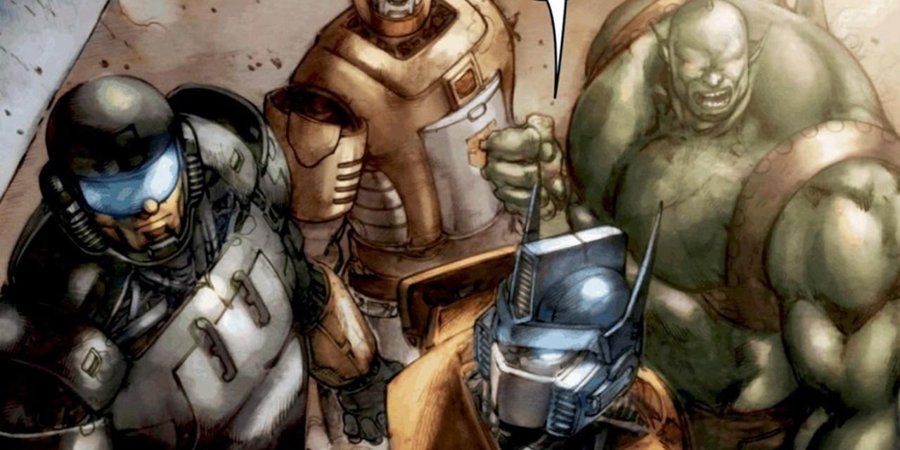 [Transformers] Preludio a Dark Cybertron 02