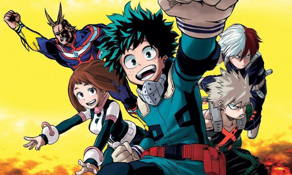 El nuevo póster de la cuarta temporada de Boku No Hero Academia