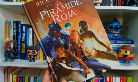 [Reseña-Libro] «La Pirámide Roja»: el libro de Rick Riordan que llega a Chile en edición novela gráfica