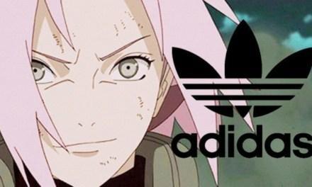 La nueva línea de zapatillas basadas en Naruto