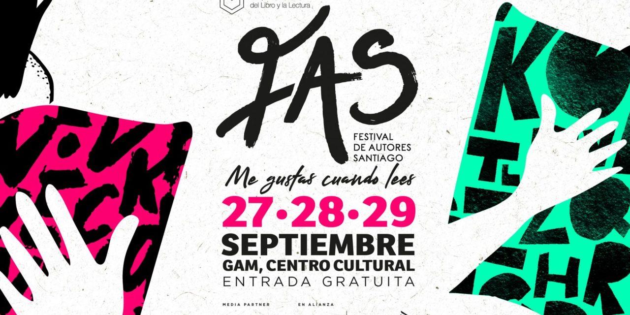 ¿Panoramas en septiembre? ¡Vuelve el Festival de Autores de Santiago 2019!