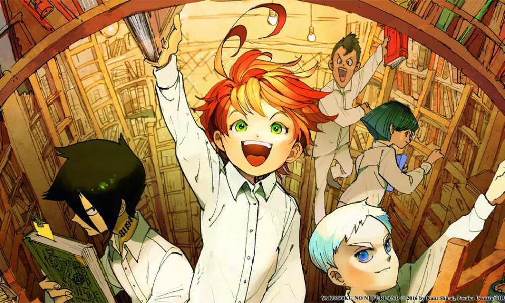 The Promised Neverland se toma un hiatus