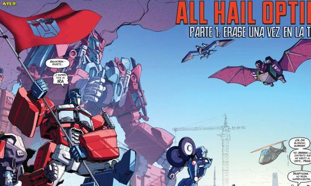 [Transformers] Rid T2: La ascensión de Optimus prime
