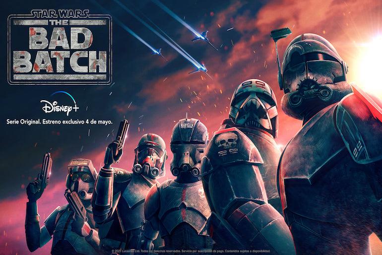 ¿De qué trata The Bad Batch?: Detalles sobre el debut de la nueva serie animada de Star Wars