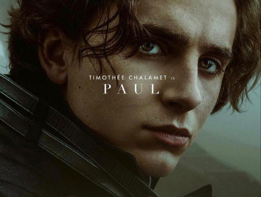 Mira los nuevos afiches de personaje de «Dune»
