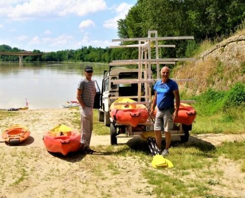 6 jours de Garonne Canalfriends Canoes de garonne