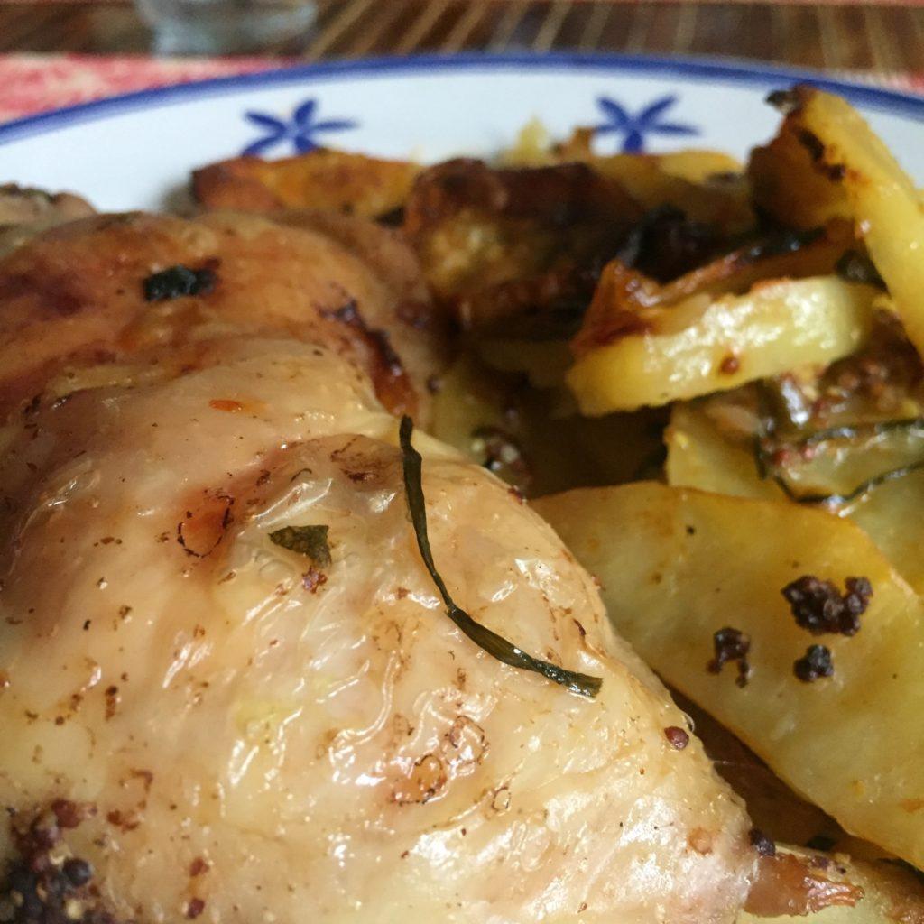 Recetas para frenar la curva: El pollo asado
