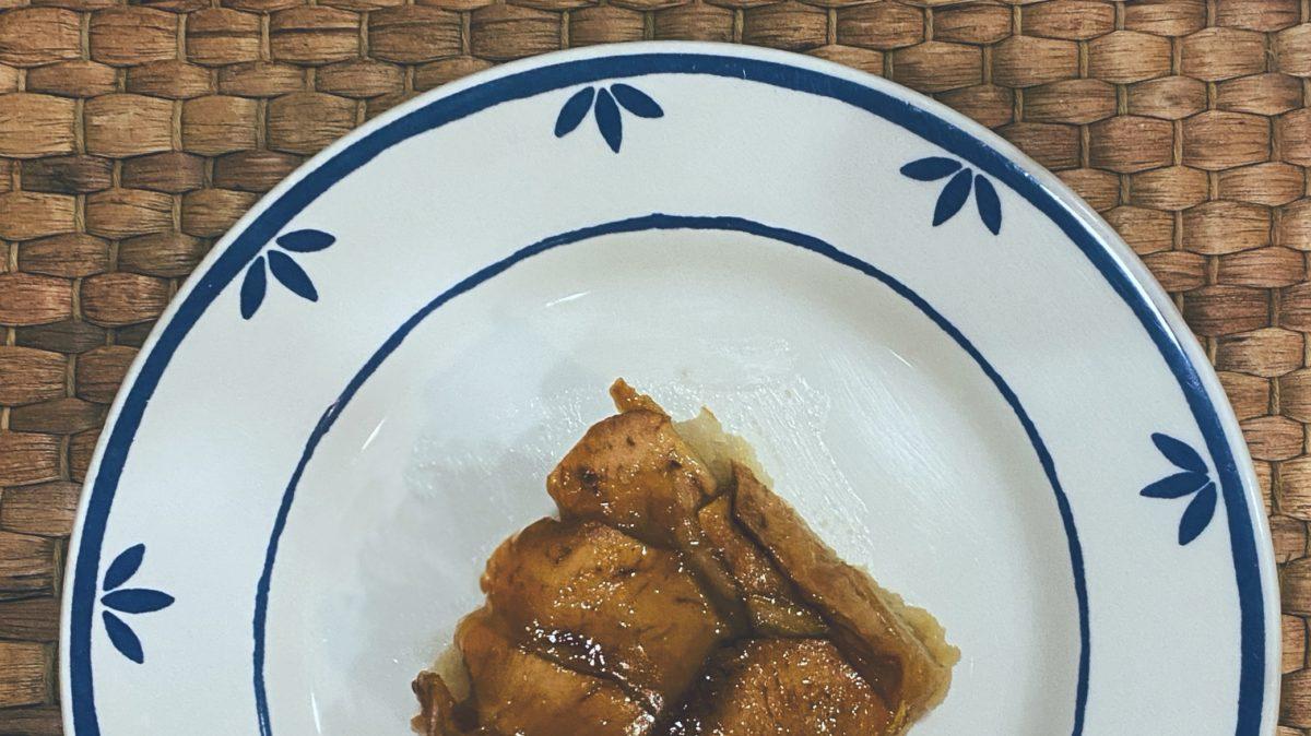 RECETAS PARA FRENAR LA CURVA: El pastel de manzana