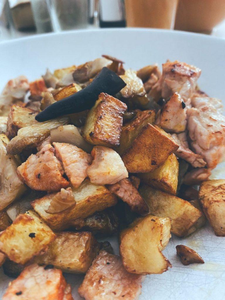 RECETAS PARA FRENAR LA CURVA: El wok de lomo con setas.
