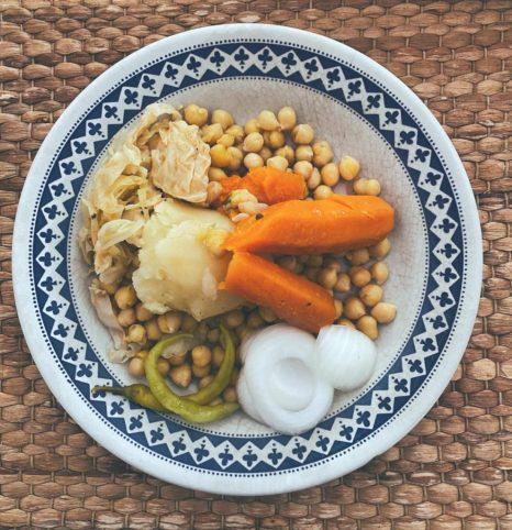 El cocido madrileño «vai prisa, vai prisa»