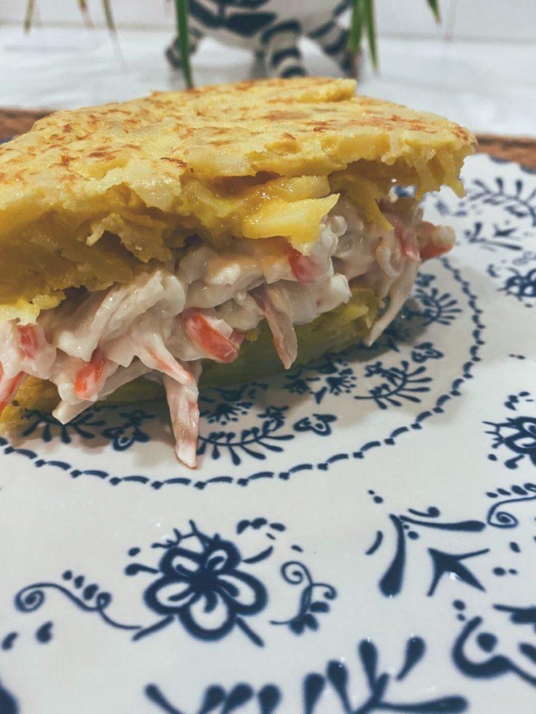 La tortilla de patata rellena de pintxo Donosti
