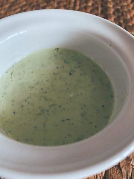 Las ajonesas fetén: la de cilantro