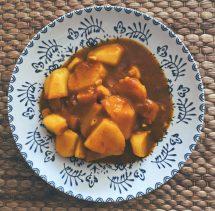 Las patatas con choco recién llegadas de Huelva