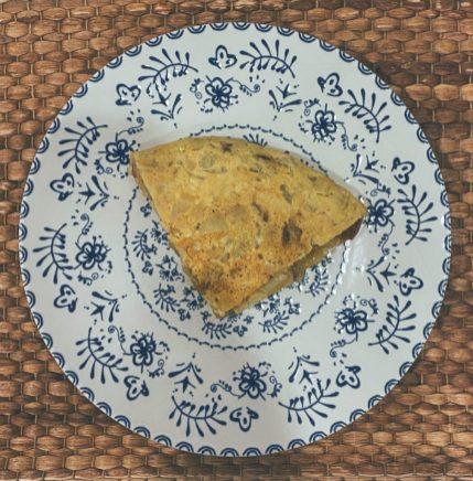 La tortilla de patatas en olla exprés