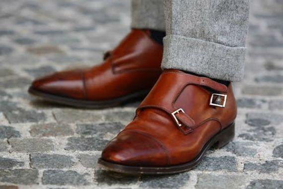 Sapatos Monk Straps e Double Monk Straps