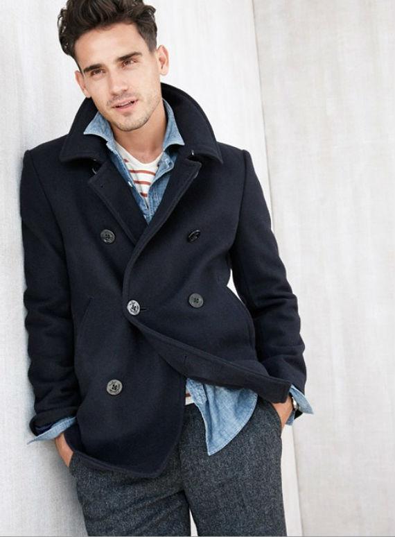 Pea coat masculino -  O que é e como usar?