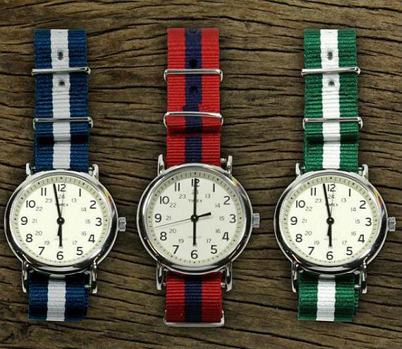 f9f2d7dc9f9 Para todos aqueles leitores que enviaram e-mails e comentários quando nós  publicamos o post sobre relógios com pulseira de lona colorida