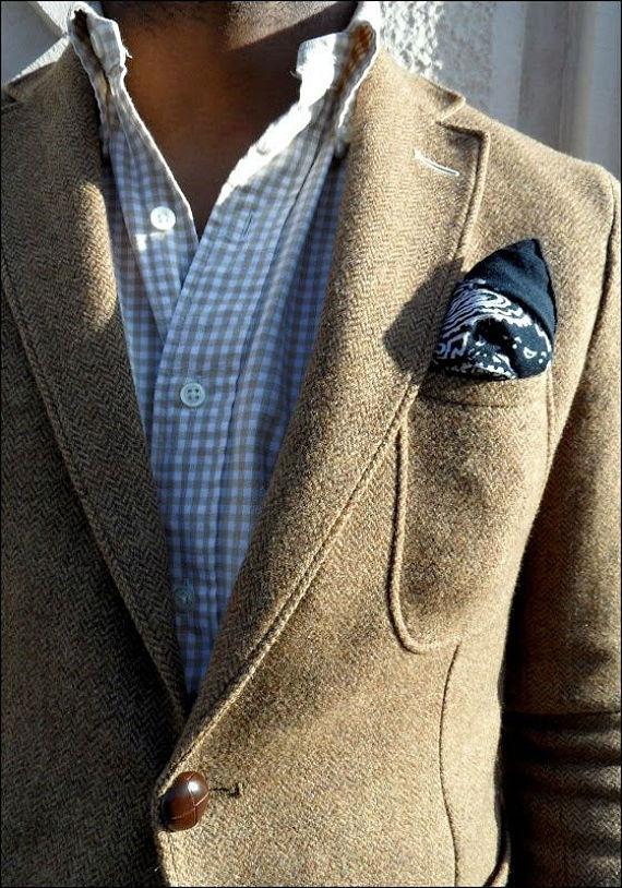 chaqueta de espiga
