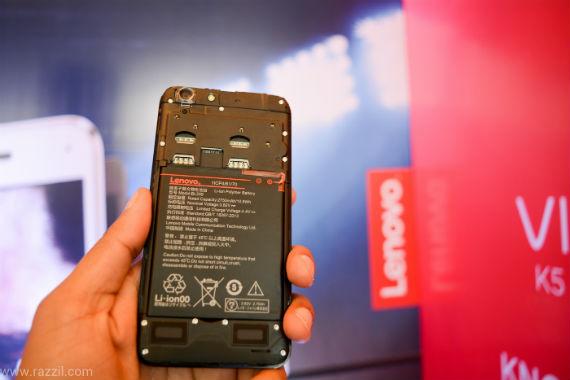Lenovo Vibe K5 - bateria