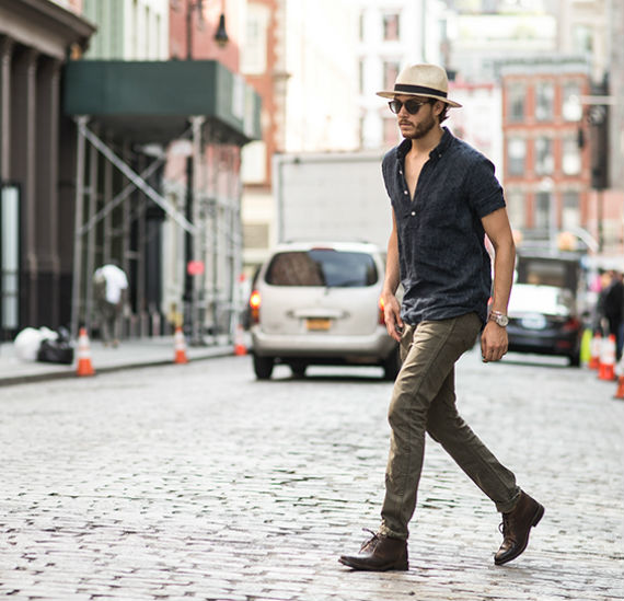 chapeu-camisa-jeans